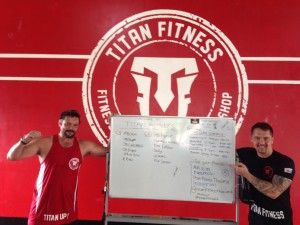 Body 360 workout @ Titan Fitness Phuket